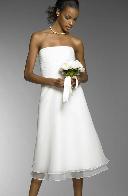 07短款新娘礼服裙图片