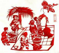 """中国传统民间艺术""""剪纸""""带来的商机"""