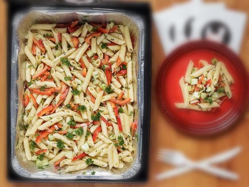 意大利面沙拉