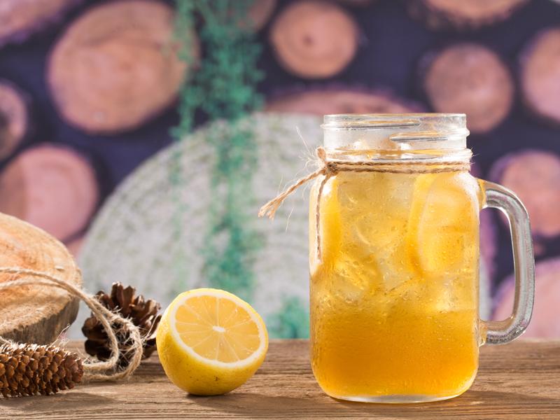 柚子柠檬茶