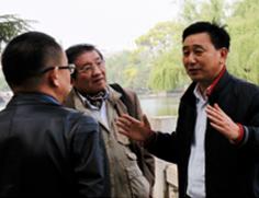 咖啡协会李秘书长与公司领导