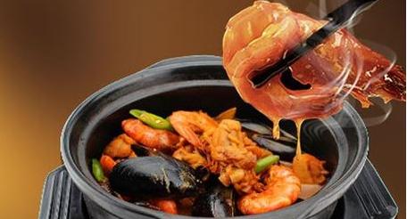 美腩子烧汁虾米饭特色滋味来致富