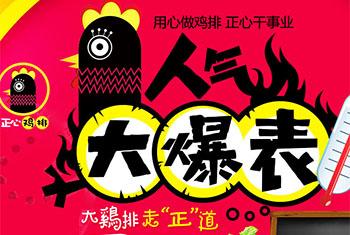 正心鸡排,源自宝岛台湾的鸡排小吃