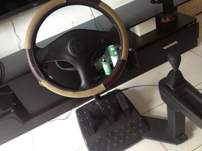 钜东汽车驾驶训练机 也是一台游戏机
